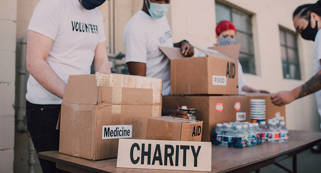Let charities care for the needy in society